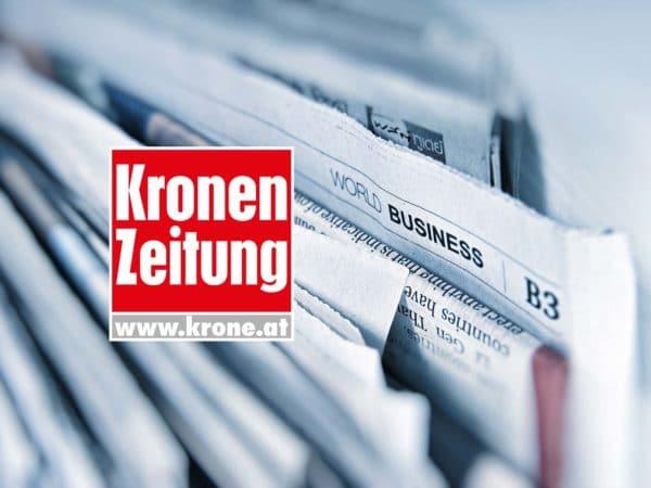 Kronen Zeitung am 29.04.2020