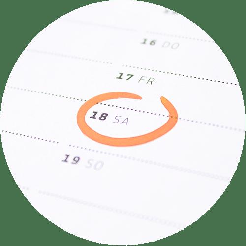 Maturaball-Kalender